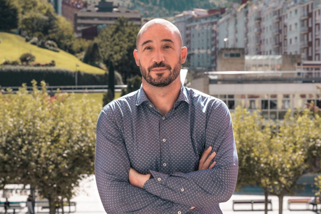 Jon Iraola, alcalde de Eibar